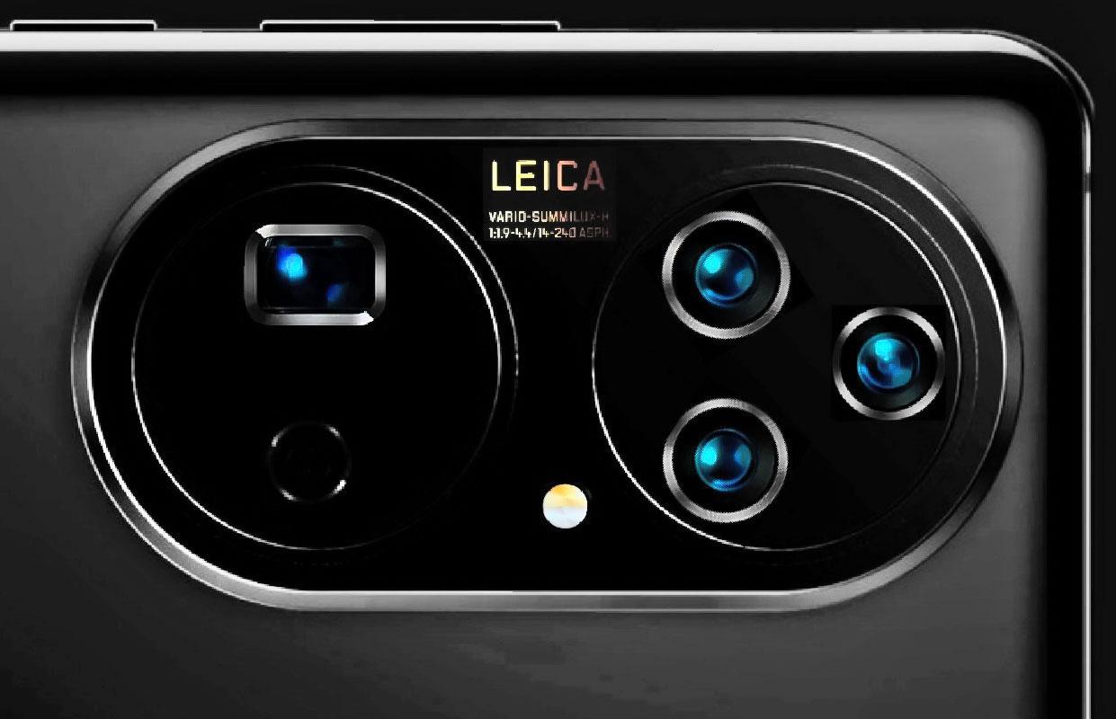 طراحی دوربین هواوی پی ۵۰ پرو پلاس احتمالا به این شکل است