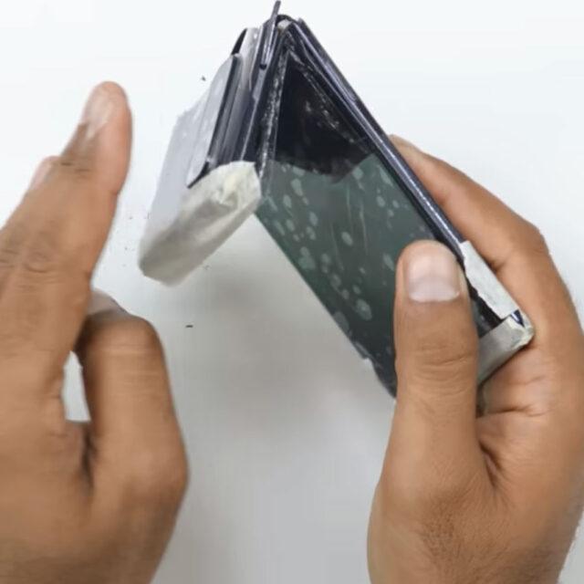 تست خم شدن Redmi Note 10 Pro Max
