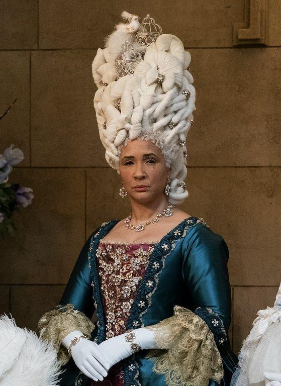 ملکه شارلوت در سریال بریجرتون