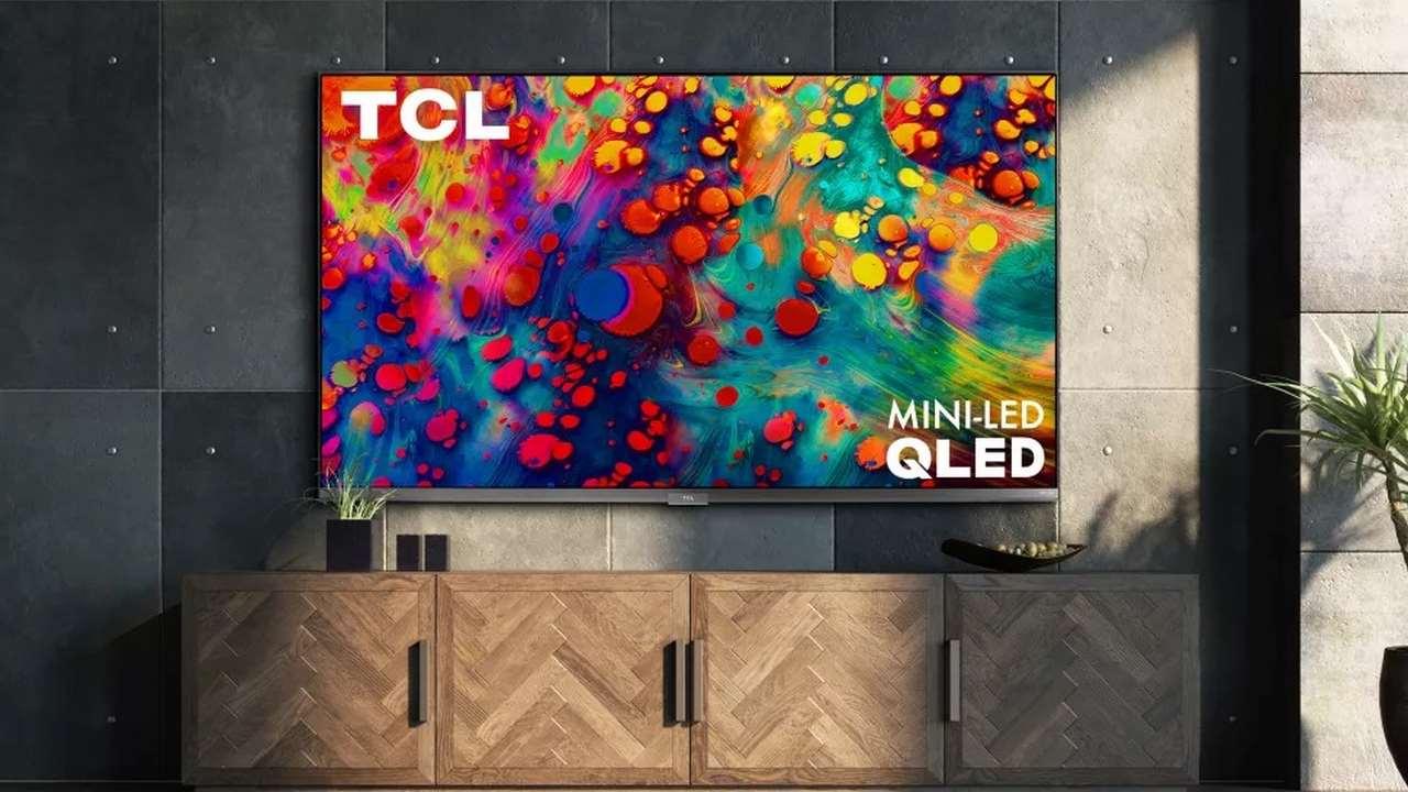 بهترین تلویزیون های ۲۰۲۱ - تی سی ال Seires 6 QLED with Mini LED
