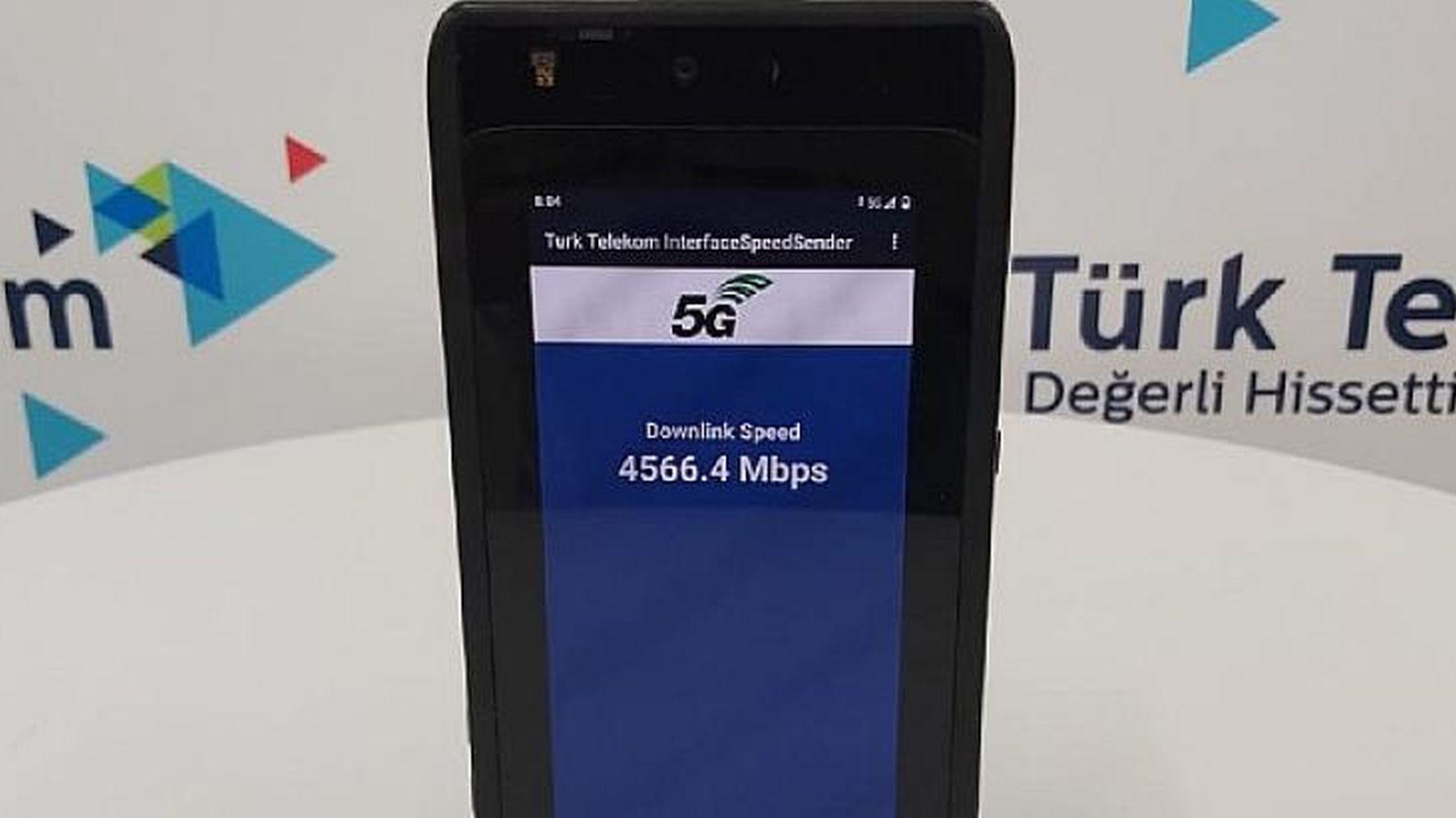 رکورد سرعت 5G