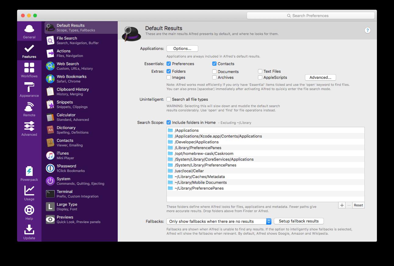 برنامه Alfred برای مک می تواند مدیریت آیتم های کپی شده در Clipboard را به عهده بگیرد