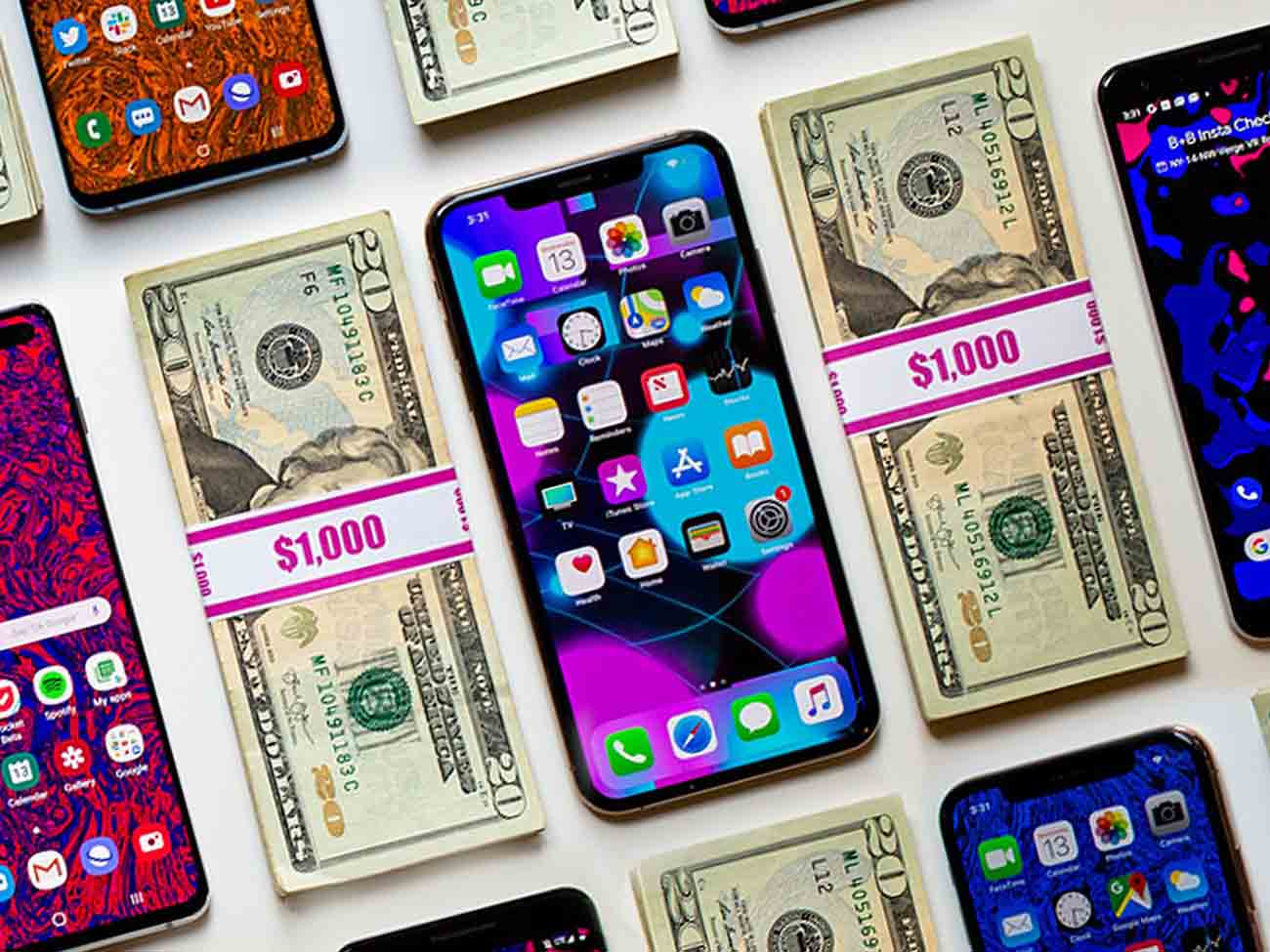 افزایش قیمت گوشی های هوشمند