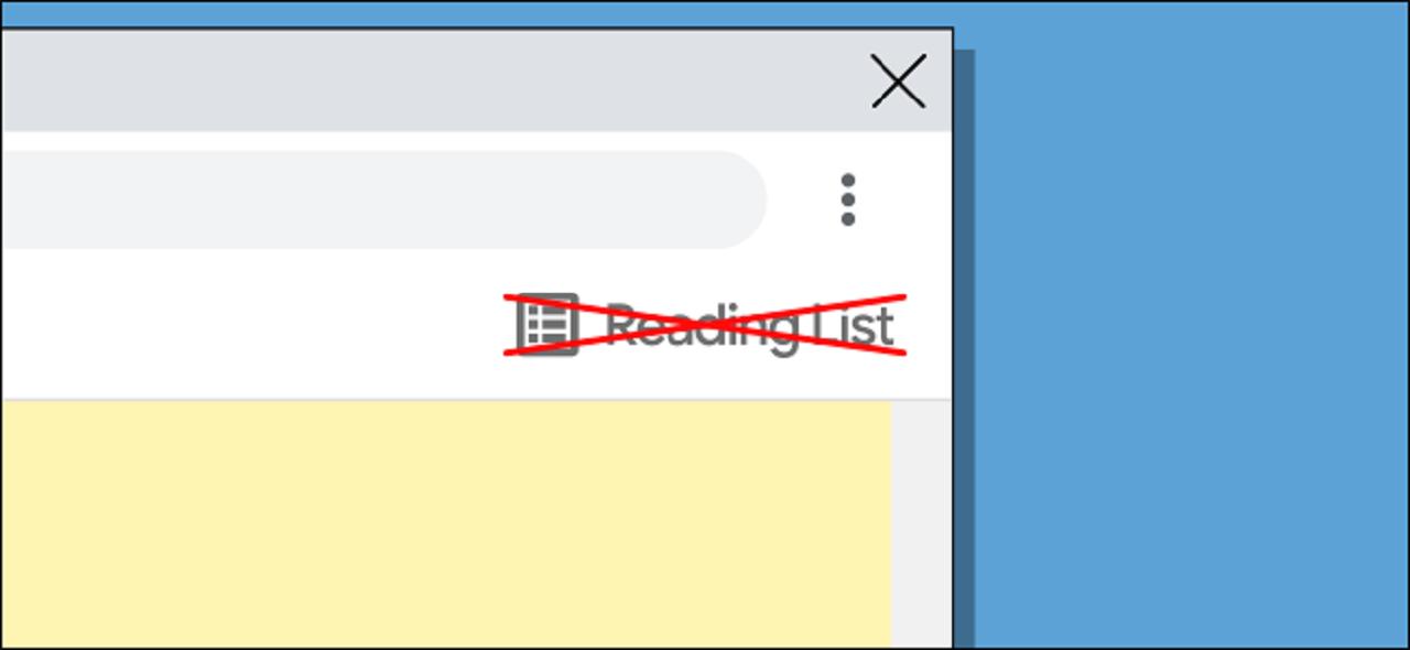 آموزش غیر فعال کردن و حذف Reading List در گوگل کروم