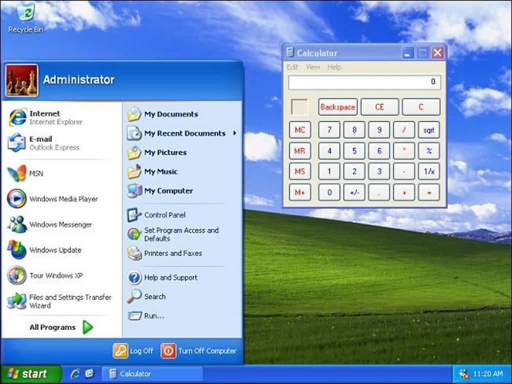 جایگاه چهارم بهترین نسخه ویندوز : ویندوز XP