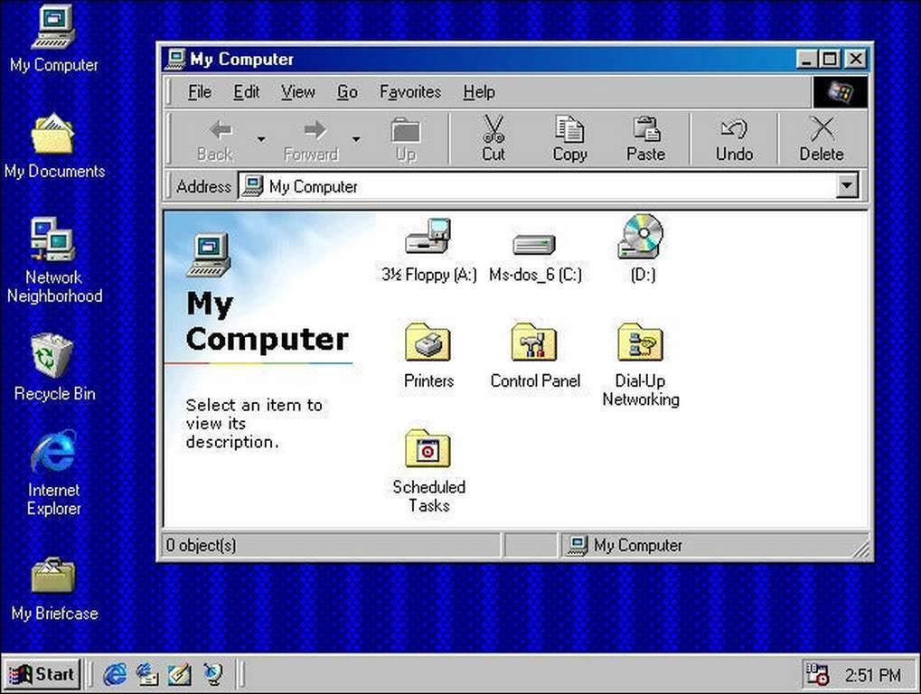 جایگاه هفتم بهترین نسخه ویندوز - ویندوز ۹۸ SE