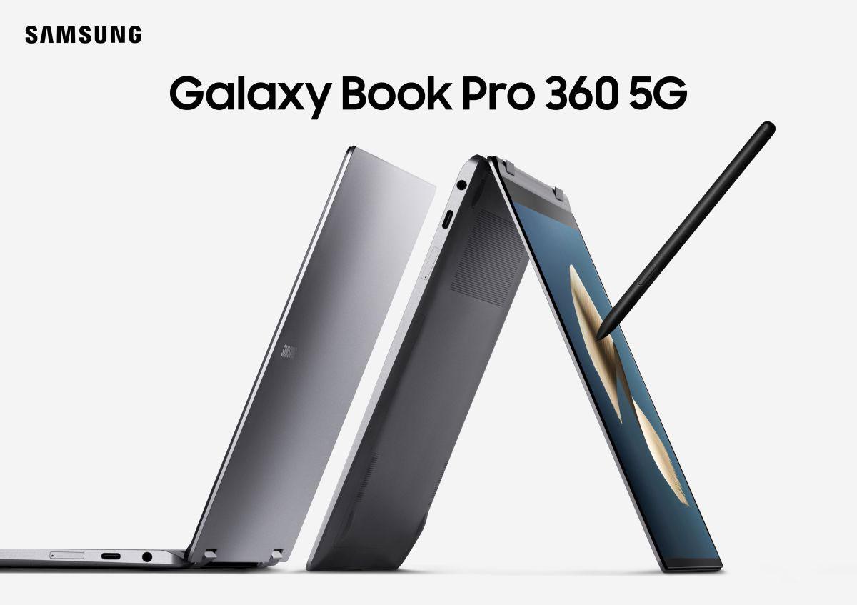 لپتاپ سامسونگ Galaxy Book Pro 360 5G و Galaxy Book Pro با نمایشگر OLED رسما معرفی شدند