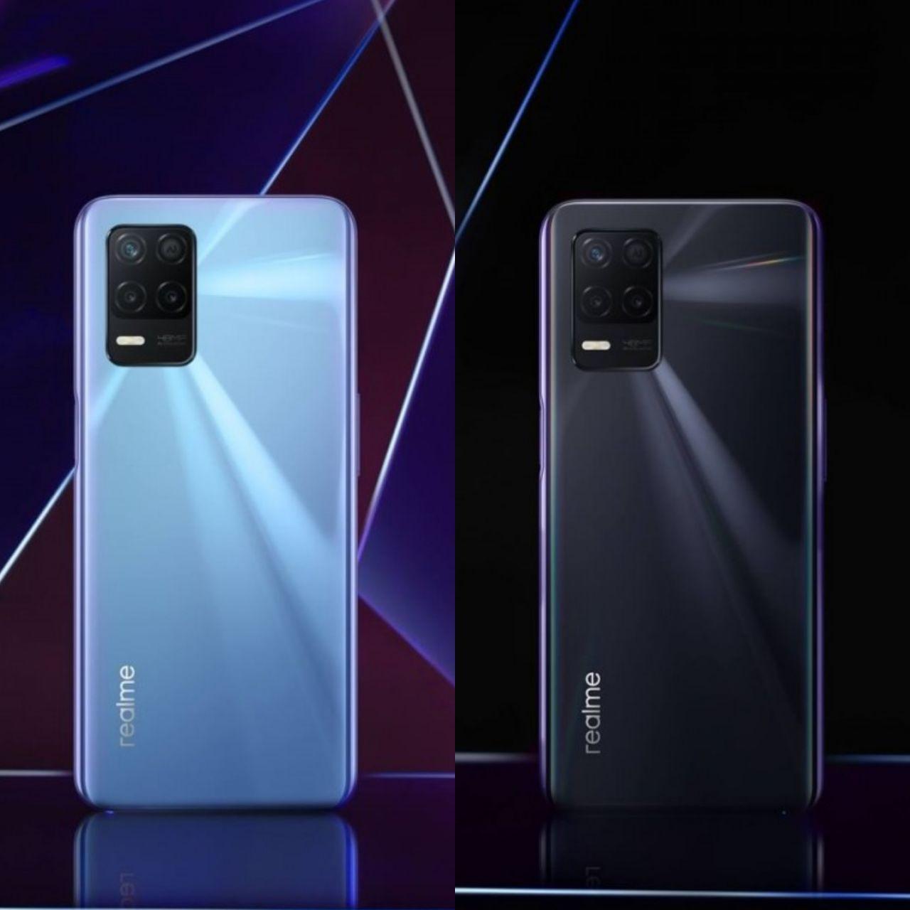 رندر و مشخصات Realme 8 5G