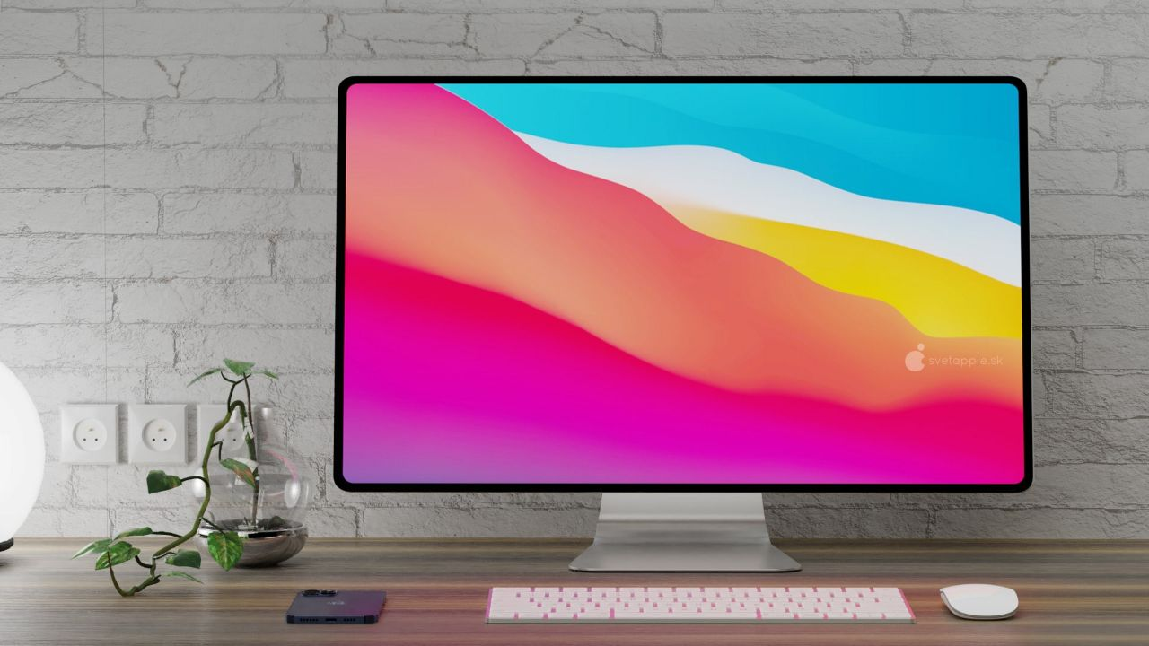 اپل iMac با طراحی و رنگ های جدید در راه است