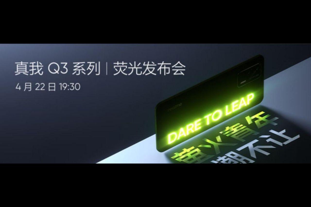 زمان رونمایی سری Realme Q3