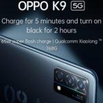 مشخصات فنی Oppo K9