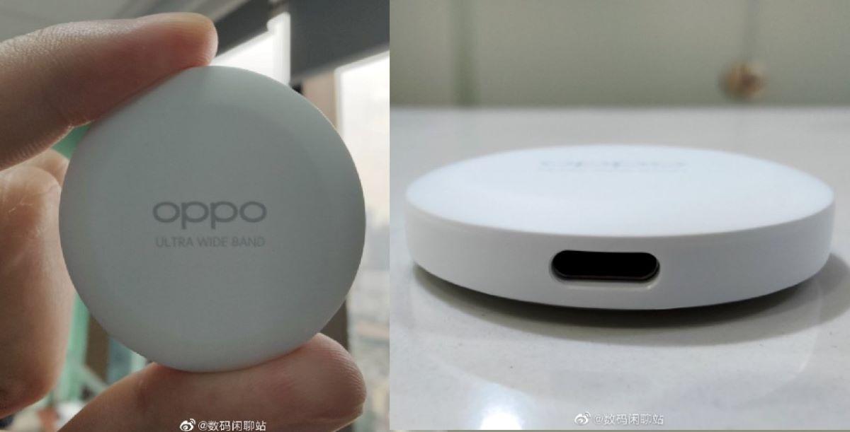 ایرتگ اوپو با پشتیبانی از UWB و شارژ USB-C لو رفت