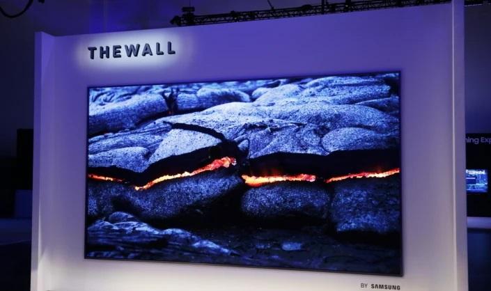 تلویزیون The Wall سامسونگ