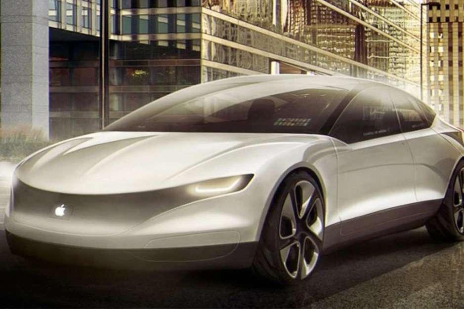 طرح مفهومی خودرو اپل