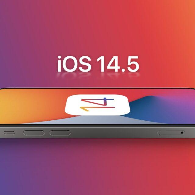 تاریخ انتشار iOS ۱۴.۵