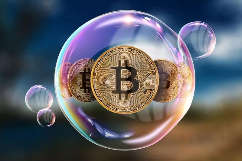 بیت کوین حباب است