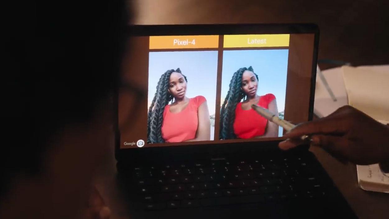 پردازش تصویر گوگل برای رنگین پوست ها، شامل تر می شود
