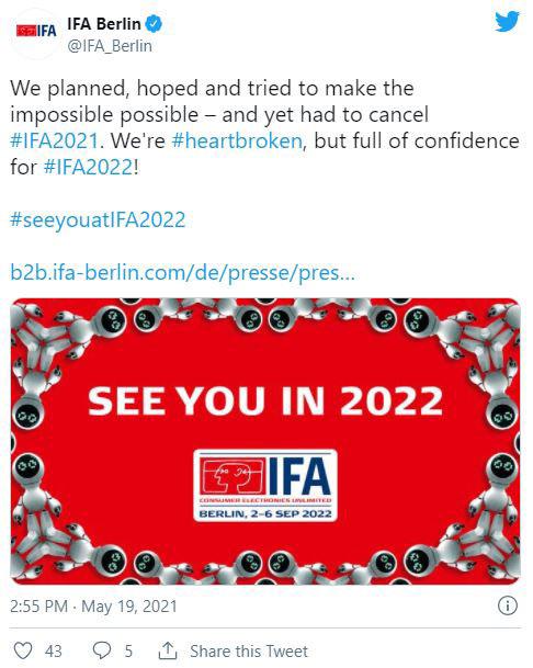 نمایشگاه IFA 2021