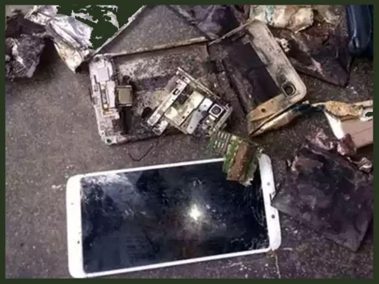 انفجار ردمی نوت ۶ پرو