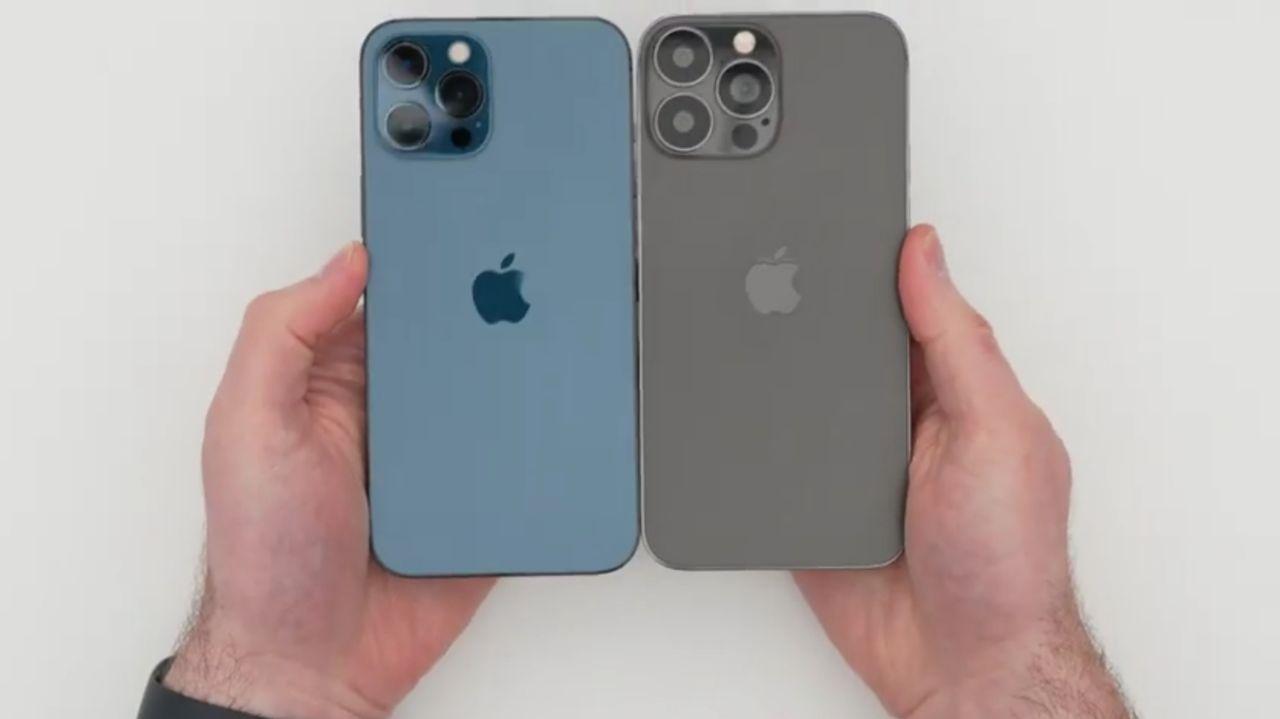 آیفون ١٢ پرو مکس در برابر iPhone 13 Pro Max