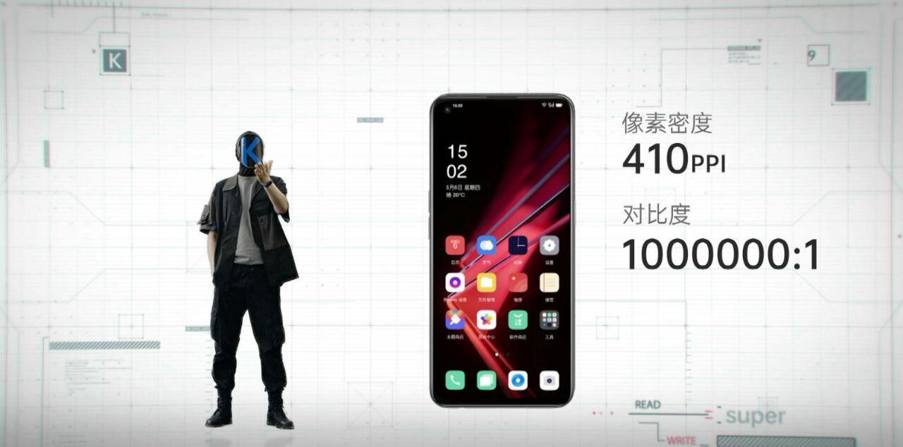 نمایشگر Oppo K9