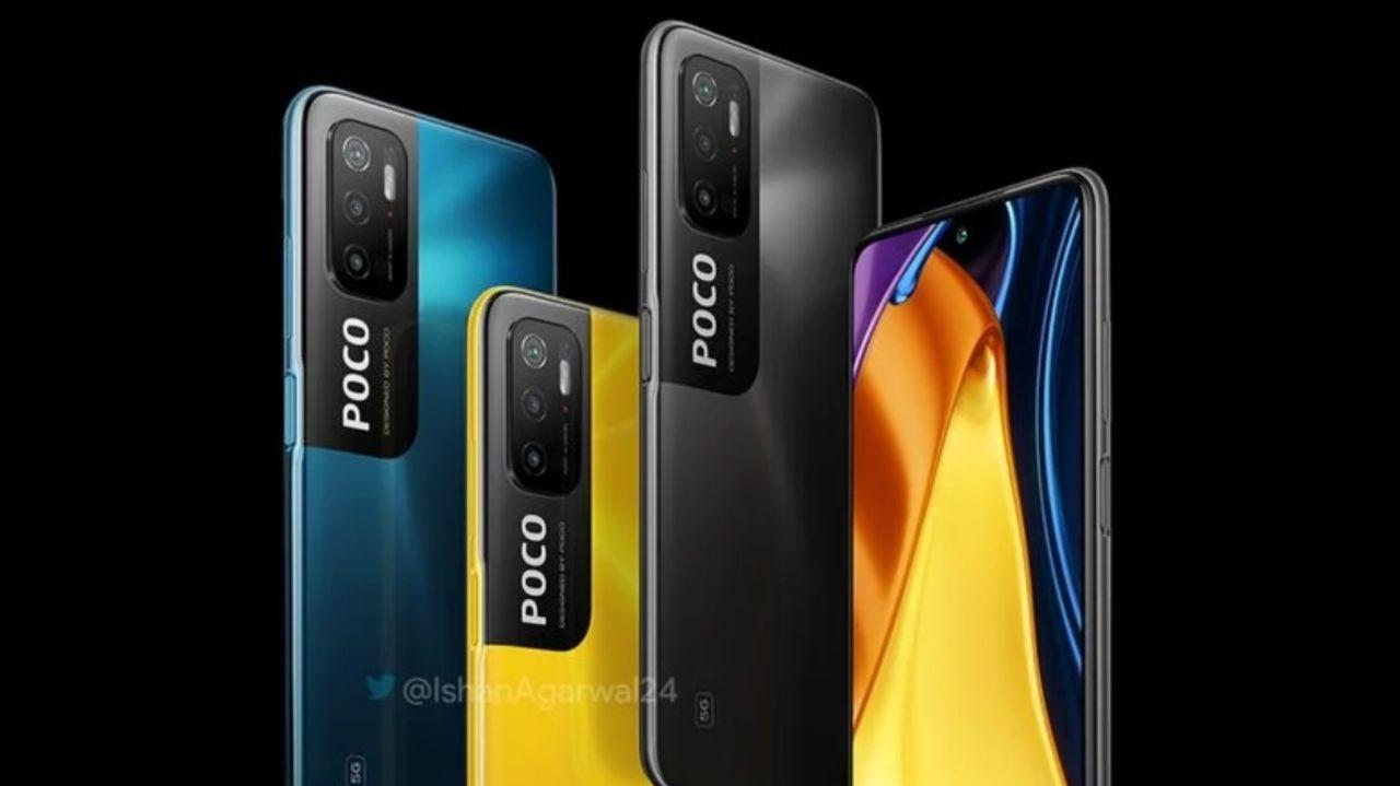 رندر رسمی Poco M3 Pro