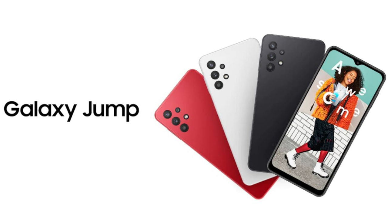 سامسونگ گلکسی Jump در کره جنوبی رونمایی شد: تقریباً همان Galaxy A32 5G