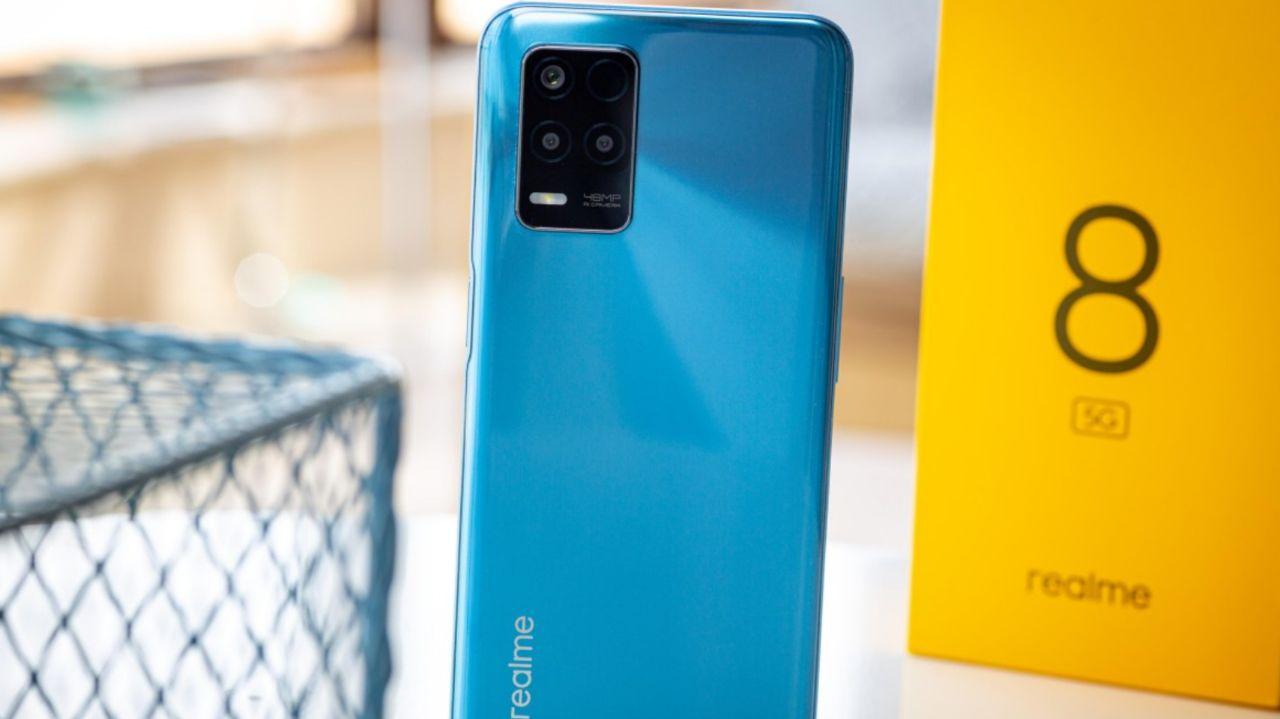 عمر باتری Realme 8 5G مشخص شد: راضی کننده!