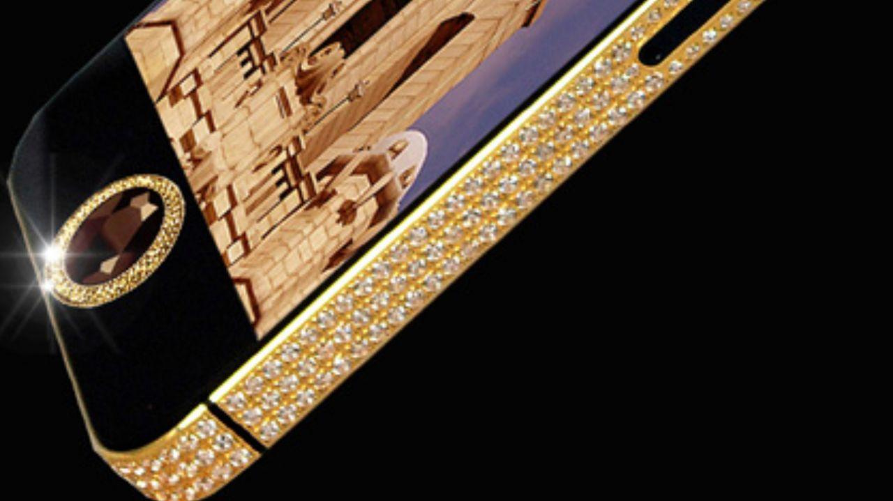 آیفون ۵ الماس سیاه