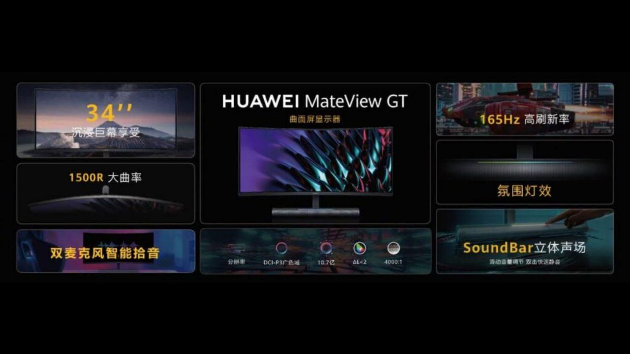 مشخصات فنی مانیتور MateView GT