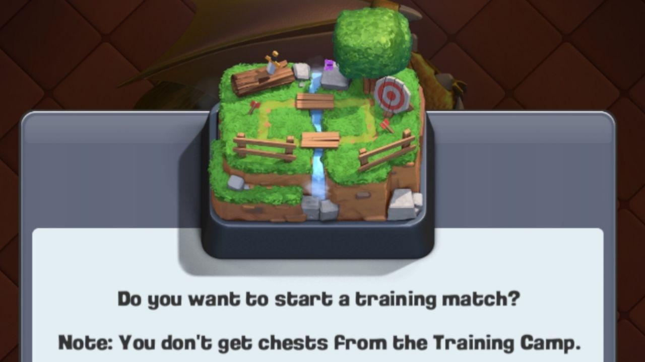 تمرین دهنده در clash royale