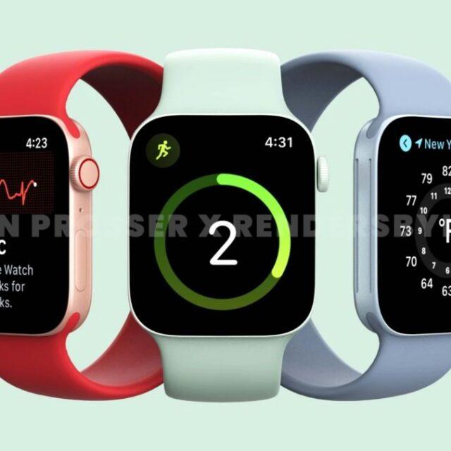 طراحی اپل واچ سری ۷