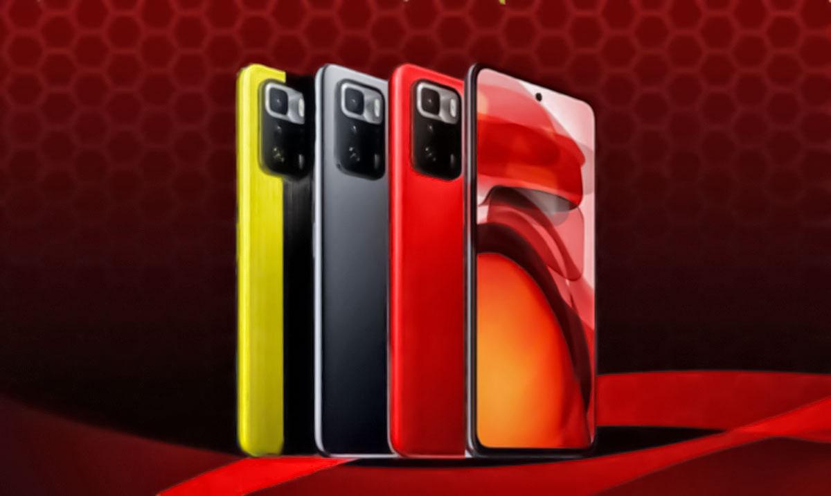 گوشی POCO X3 GT با دایمنسیتی ۱۱۰۰ به هند خواهد رفت