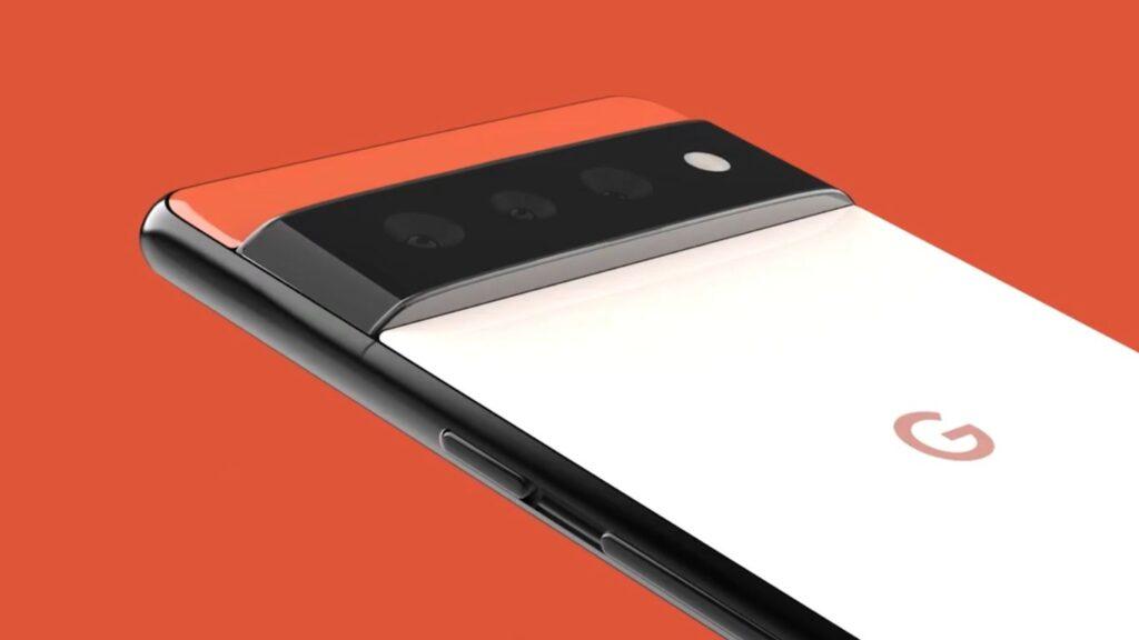 برجستگی دوربین Pixel 6