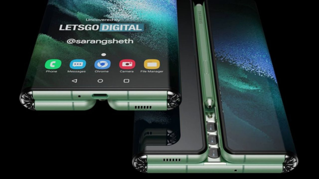 قاب پشتی Galaxy Z Fold Tab