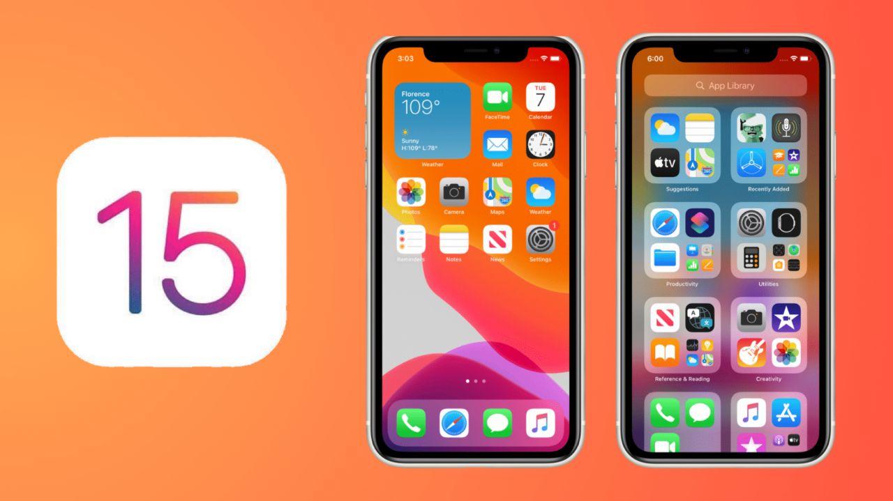دستگاههای دریافت کننده iOS 15