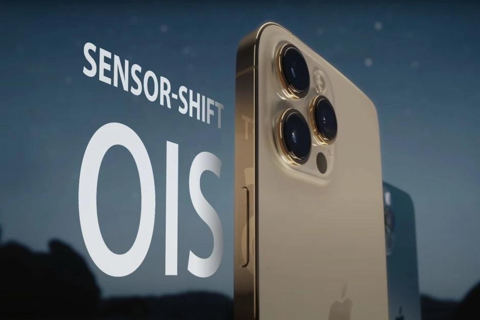 لرزشگیر تصویر سنسور شیفت به تمامی مدل های آیفون 13 راه پیدا می کند