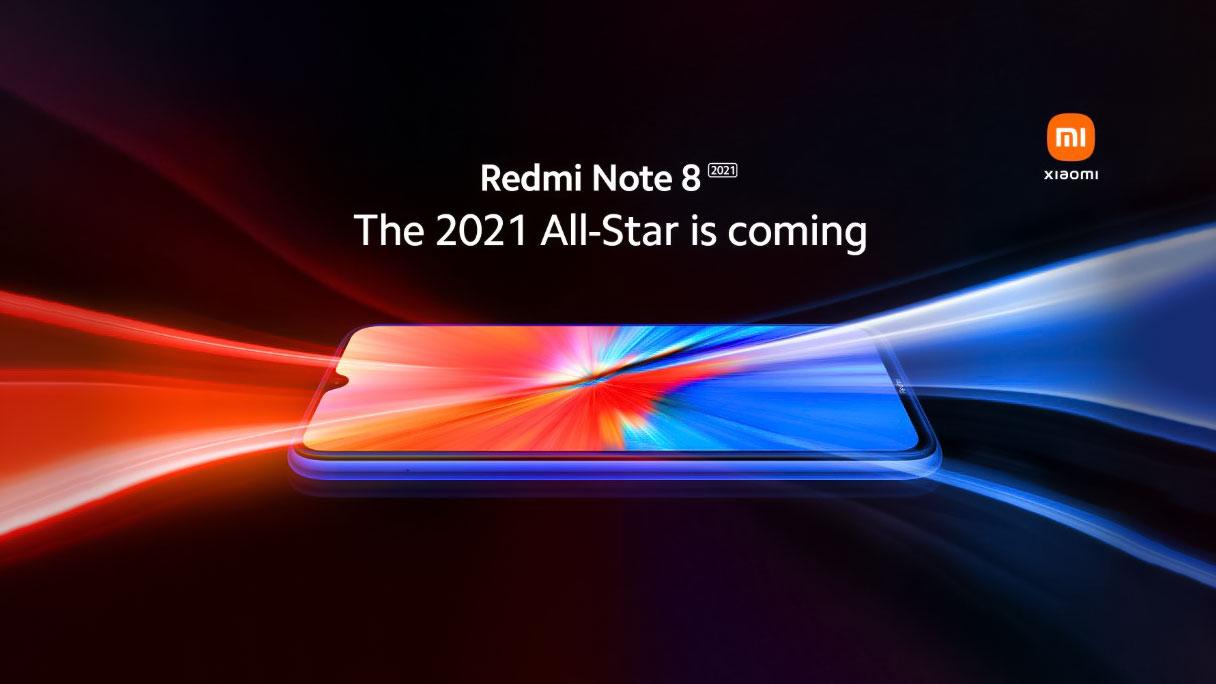 طراحی ردمی نوت ۸ مدل ۲۰۲۱ رسما توسط شیائومی منتشر شد