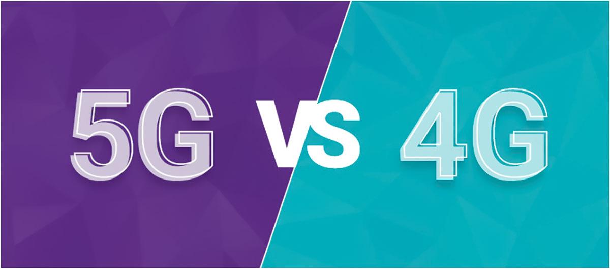 مقایسه 4G با 5G
