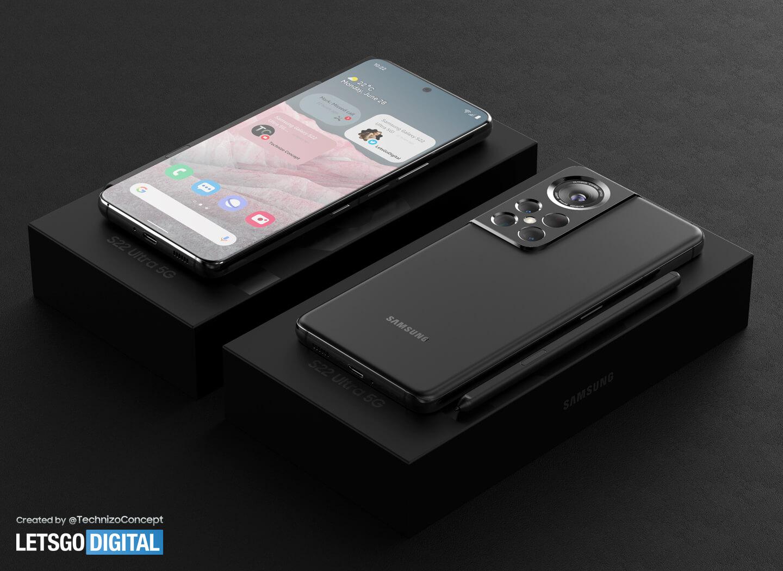 Galaxy S22 Ultra - Concept