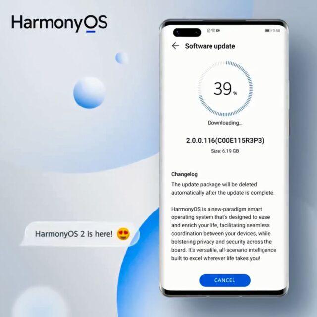 حفظ اطلاعات گوشی در HarmonyOS 2
