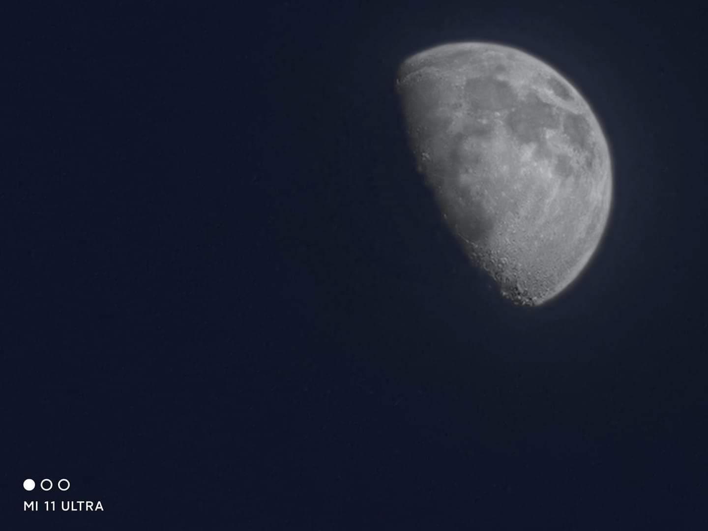 عکس با کیفیت شیائومی Mi 11 Ultra از ماه به لطف سنسور ISOCELL GN2 سامسونگ