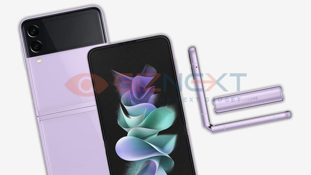 رندر غیر رسمی Galaxy Z Flip 3