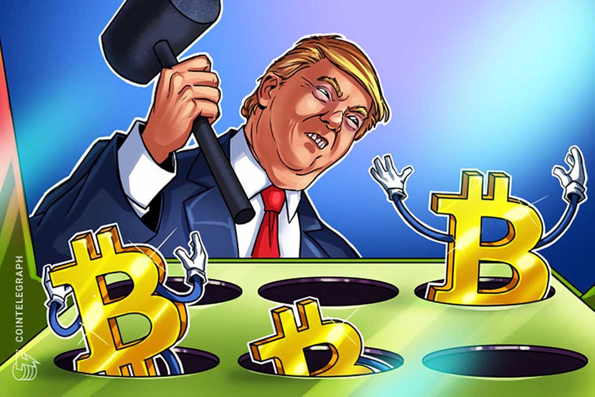 دونالد ترامپ: بیت کوین کلاه برداری است و نباید جای دلار را بگیرد! + ویدیو