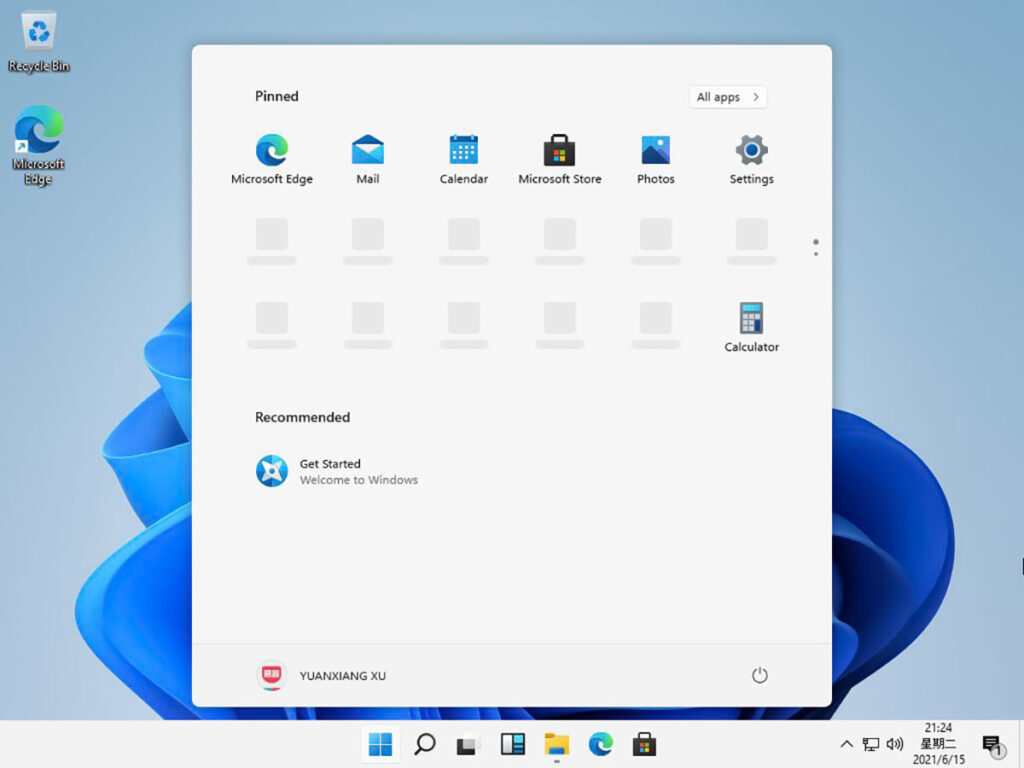 اسکرین شات ویندوز ۱۱ پرو
