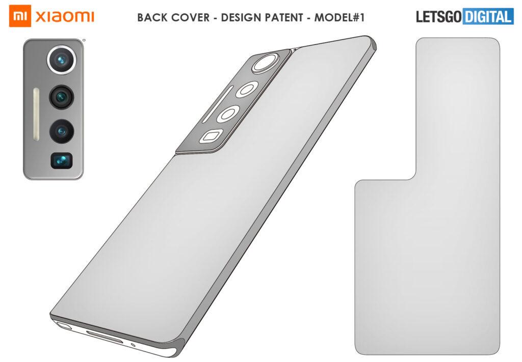 طراحی گوشی های آینده شیائومی - حق اختراع ثبت شده - محصول نهایی نیست
