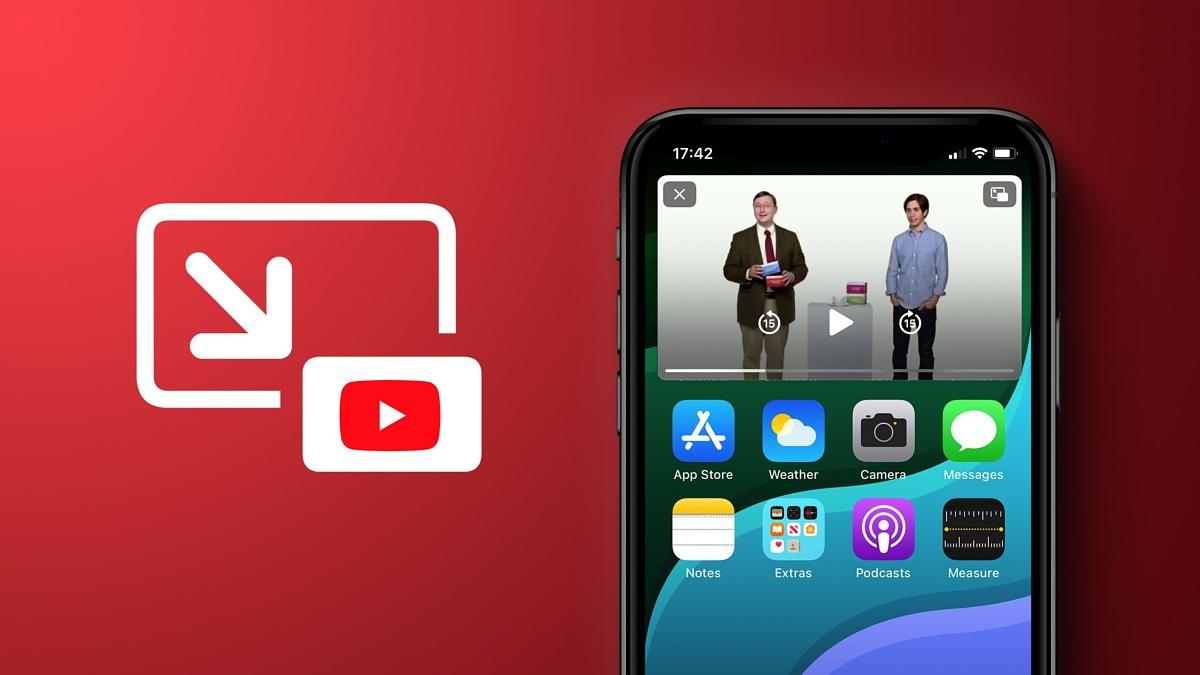 ویژگی تصویر در تصویر یوتیوب iOS سرانجام به این سیستم عامل اضافه شد