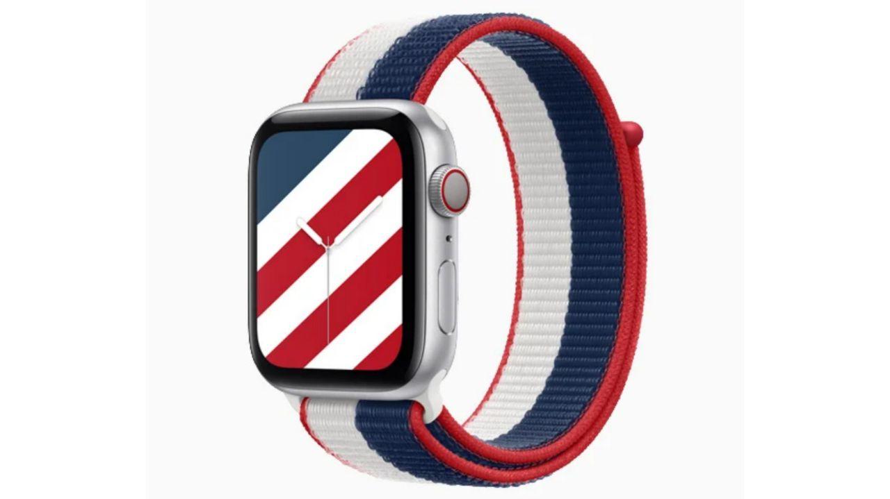 بند جدید اپل واچ و تم این ساعت هوشمند را با پرچم کشورهای مختلف ببینید!