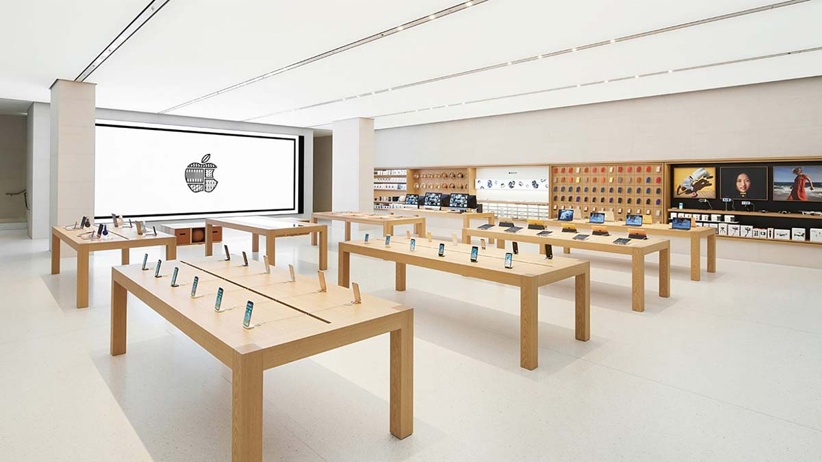 اپل به دنبال تصاحب فروشگاه های ال جی در کره جنوبی است