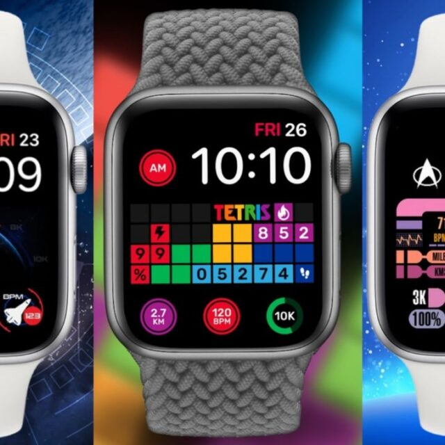 شخصی سازی واچ فیس Apple Watch